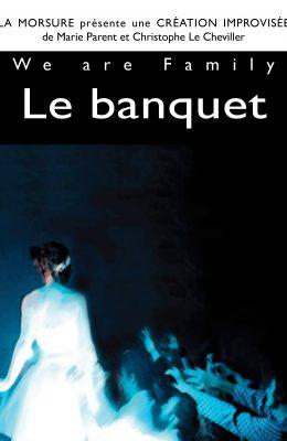 Affiche spectacle le banquet